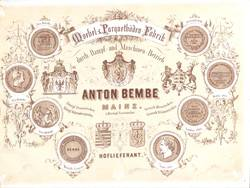 Unternehmensgeschichte Der Firma Anton Bembé Regionalgeschichtenet